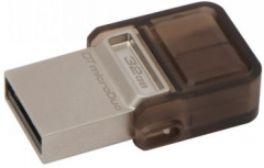 USB atmintukas KINGSTON MICRODUO 32GB DT 2.0 OTG