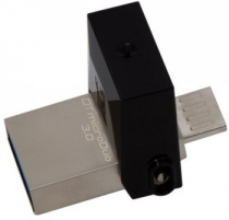 USB atmintukas KINGSTON MICRODUO 64GB DT 3.0 OTG