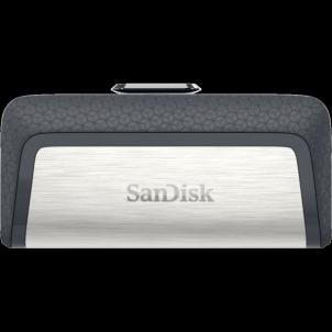 USB atmintukas SANDISK ULTRA DUAL DRIVE USB Type-C 64GB 150MB/s