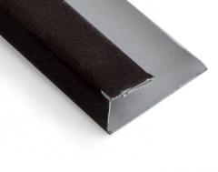 Užbaigimo elementas RAL8019 MAT rudas 3m CanExel Facade planks fittings (pvc, fiberboard, wood)