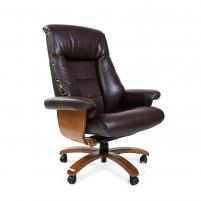 Vadovo kėdė CHAIRMAN 400 Brown Biuro kėdės