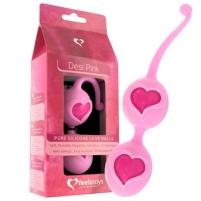 Vaginaliniai kamuoliukai Feelz Toys - Desi Love Balls Rožiniai Vaginaliniai kamuoliukai
