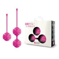 Vaginalinių kamuoliukų rinkinys Mažieji O (rožiniai)