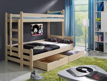 Vaikiška dviaukštė lova BENIAMIN Bērnu gultas
