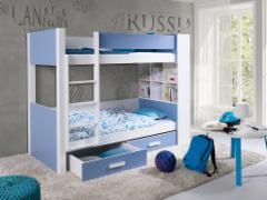 Vaikiška dviaukštė lova GASPAR