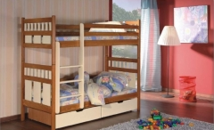 Double bed bed OLIWIER