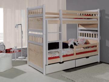 Vaikiška Dviaukštė Lova Salomon Vaikiškos lovos