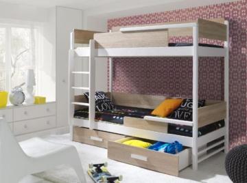 Vaikiška dviaukštė lova TRES