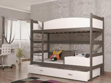 Divstāvu Bērnu gulta Twist Bērnu gultas