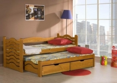 Double bed MIKOLAJ