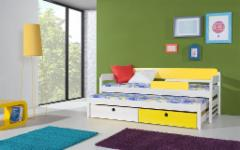 Double bed Natu I Children's beds