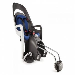 Vaikiška kėdutė Hamax Caress gray-white-blue, tvirtinama ant vamzdžio Baby high chairs for bicycles