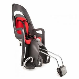 Vaikiška kėdutė Hamax Caress grey-red,tvirtinama ant vamzdžio Vaikiškos kėdutės dviračiams
