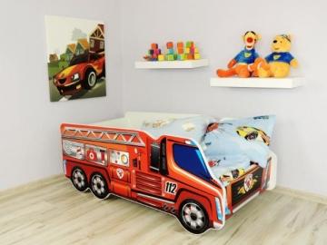 Vaikiška lova Fire Truck