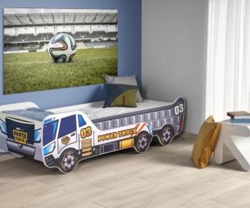 Vaikiška lova su reguliuojamo ilgio funkcija DIGGER Children's beds