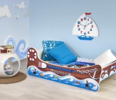 Vaikiška lova su supimo funkcija BOAT Vaikiškos lovos