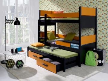Vaikiška trivietė lova AUGUSTO Vaikiškos lovos