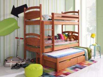 Vaikiška Trivietė Lova CEZARY Vaikiškos lovos