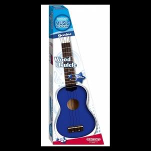 Vaikiška ukulelė Wooden ukulele with 4 strings
