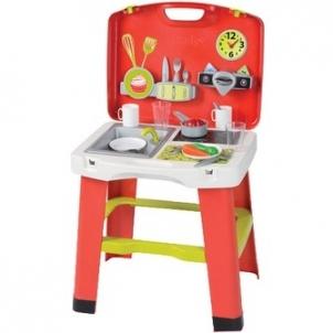 Vaikiška virtuvėlė | lagamine | Smoby Žaislai mergaitėms