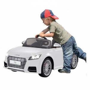 Vaikiškas automobilis Jamara Ride-on Audi TTS Roadster white 2.4GHz Automobiliai vaikams