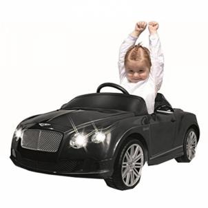 Vaikiškas automobilis Jamara Ride-on Bently GTC black Automobiliai vaikams