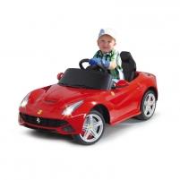 Vaikiškas automobilis Jamara Ride-on Ferrari F12 Berlinetta red Automobiliai vaikams