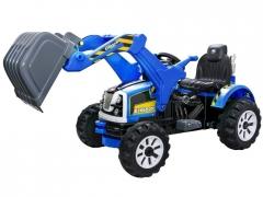 Vaikiškas automobilis Large 2sil.45W EXCAVATOR 2 SPOOTER SPEED PA0159