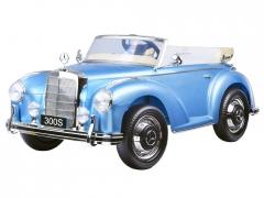 """Vaikiškas automobilis vienvietis """"Mercedes S300"""" Mėlynas lakuotas Automašīnas bērniem"""