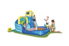 Vaikiškas baseinas Bestway H2OGO! Hydrostorm Splash Mega Park 53362