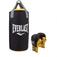 Vaikiškas bokso rinkinys Everlast Junior 60 cm Boksa maisi