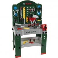 Vaikiškas didelis darbastalis su įrankiais | Bosch | Klein Žaislai berniukams