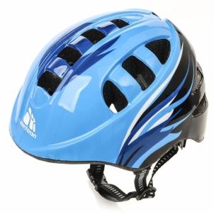 Vaikiškas dviratininko šalmas METEOR MA-2 ORBIT BLUE Dviratininkų šalmai