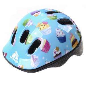 Vaikiškas dviratininko šalmas METEOR MV6-2 muffins Bicycle helmets