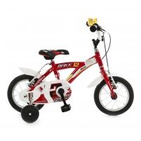 Vaikiškas dviratis Makk 12 red/white 12 Bikes for kids