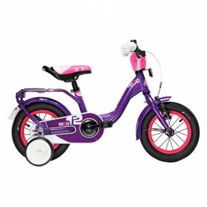 Vaikiškas dviratis niXe alloy 1 speed-violet 12 Bikes for kids