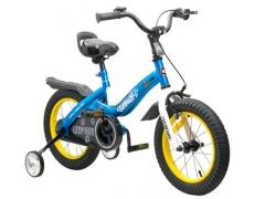 """Vaikiškas dviratis su papildomais ratais ROYALBABY """"Leopard14"""" Dviračiai, triračiai vaikams"""