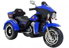 """Vaikiškas elektrinis motociklas """"ABM5288"""", mėlynas Automašīnas bērniem"""