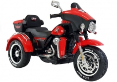 """Vaikiškas elektrinis motociklas """"ABM5288"""", raudonas Automašīnas bērniem"""