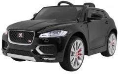 """Vaikiškas elektromobilis """"Jaguar F-Pace"""", juodas Automobiliai vaikams"""