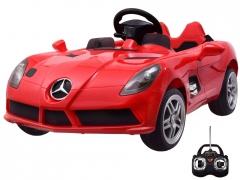 Vaikiškas elektromobilis Mercedes SLR, raudonas Automobiliai vaikams