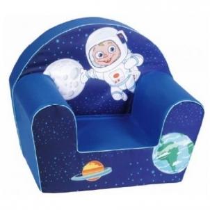 Vaikiškas foteliukas Astronautas ir kosmosas Foteliai, sėdmaišiai vaikams