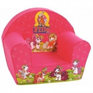 Vaikiškas foteliukas Poniai Foteliai, sėdmaišiai vaikams