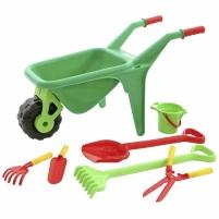 Vaikiškas karutis su sodo įrankiais 7 vnt | Wader Toys for boys