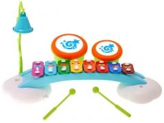 Vaikiškas ksilofono komplektas Muzikiniai žaislai
