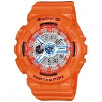Bērnu pulkstenis Casio Baby-G BA-110SN-4AER