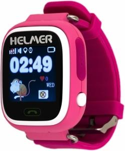 Vaikiškas laikrodis HELMER GPS LK 703 rausva