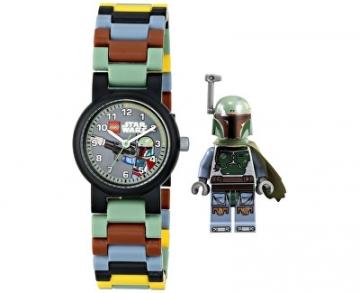 Vaikiškas laikrodis Lego Star Wars Boba Fett 8020363