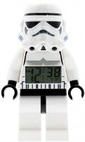 Vaikiškas laikrodis Lego Star Wars Stormtrooper Minifigure Clock Vaikiški laikrodžiai