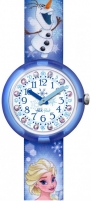 Kids watch Swatch Flik Flak Disney Elsa & Olaf ZFLNP023 Kids watches